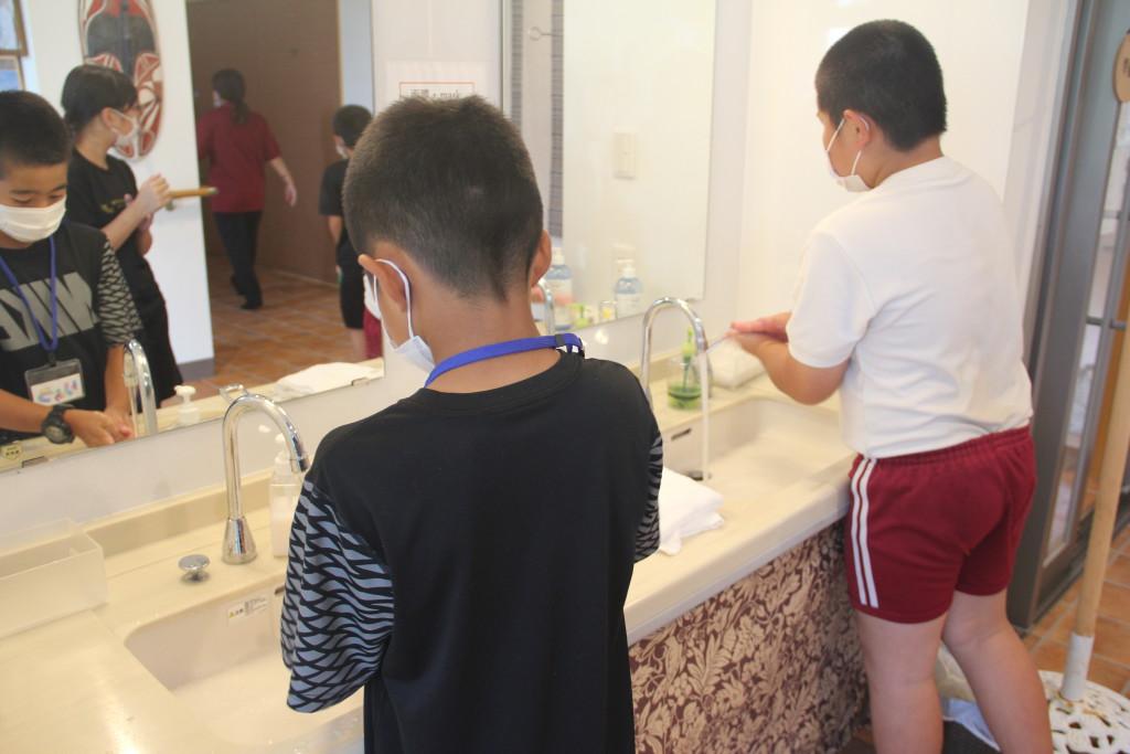 常に手洗い